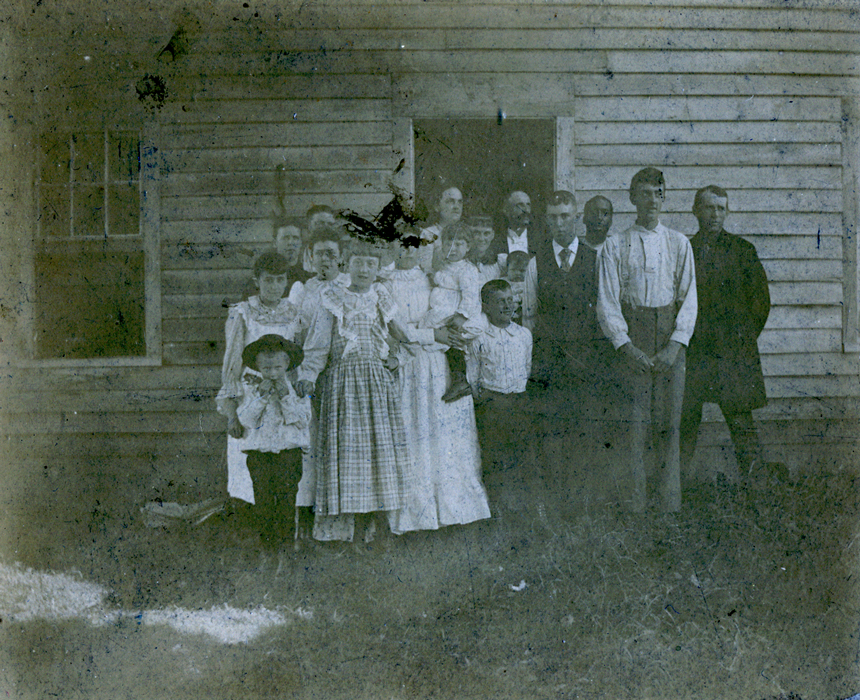 Unidentified family group