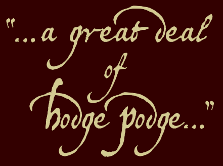 graphic of a great deal of hodgepodge